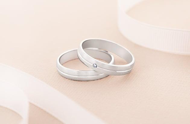 Pareja de alianzas de boda Argyor