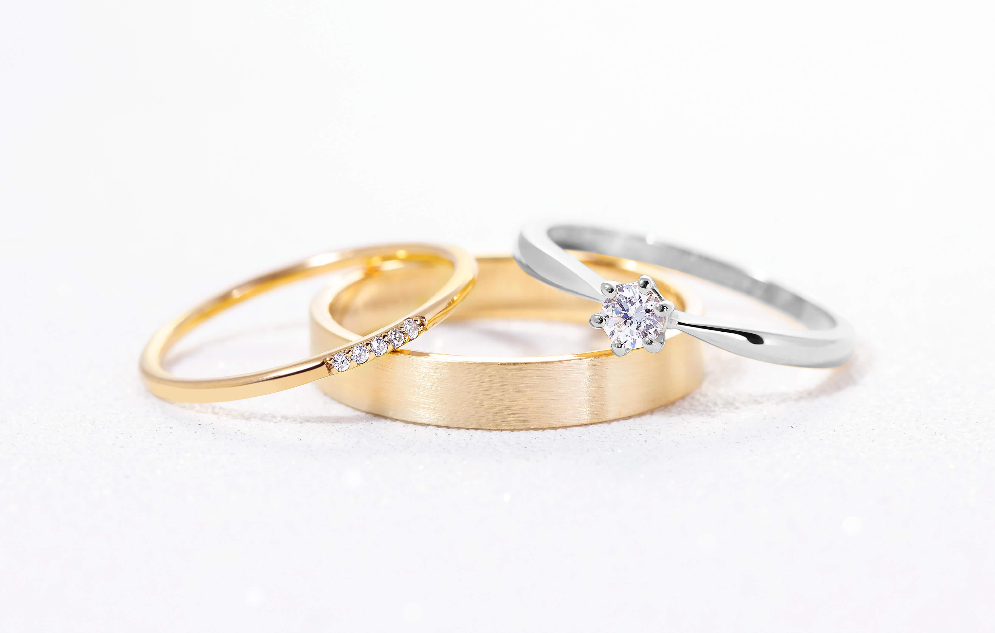 Como combinar anillos